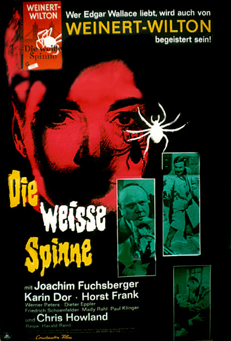 die weisse spinne 1963 s w film vorsicht vor der. Black Bedroom Furniture Sets. Home Design Ideas